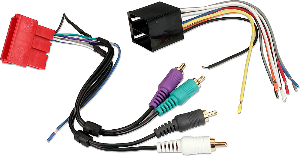 Metra 70-1787 Receiver Wiring Harness For select 1994-07 Audi and