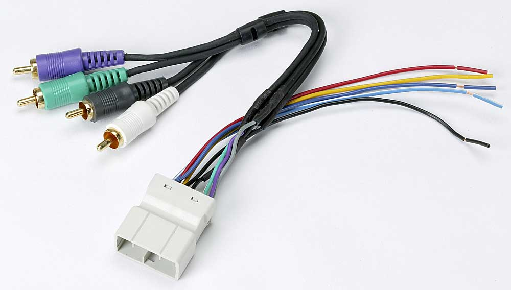 Metra 70-8112 Receiver Wiring Harness Connect a new car stereo in
