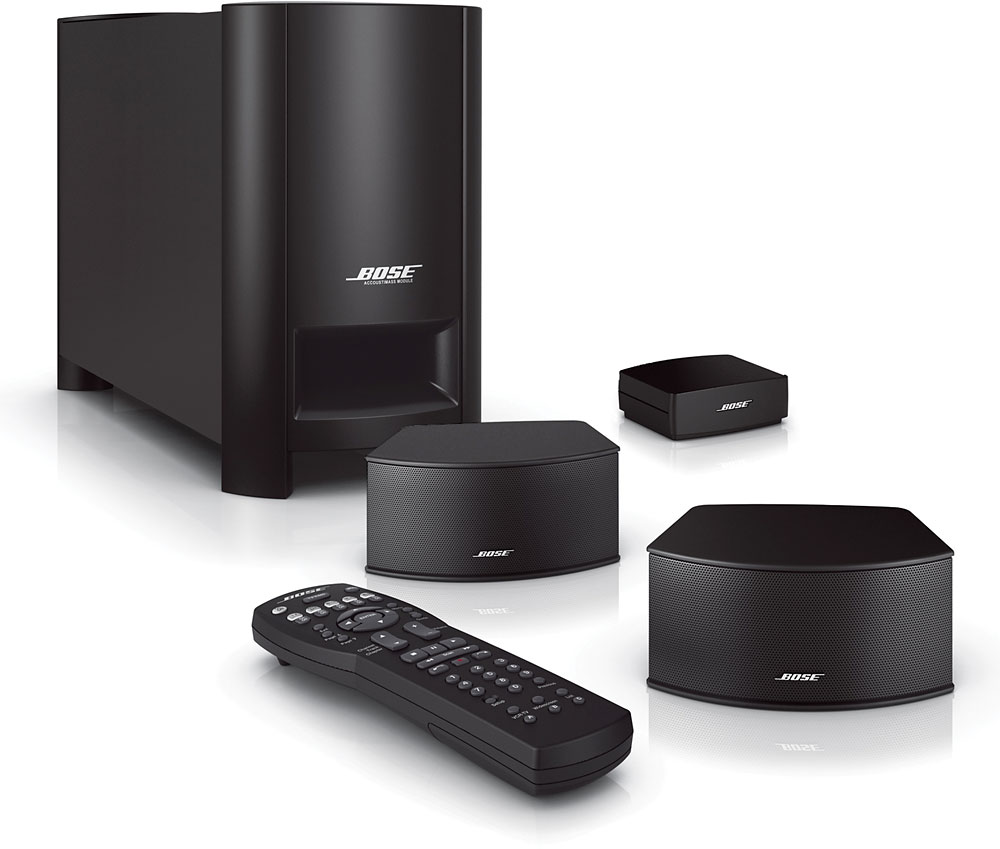 Bose Home Cinema Bose® Cinemate® Gs Series Ii Digital Home Theater Speaker System At Crutchfield