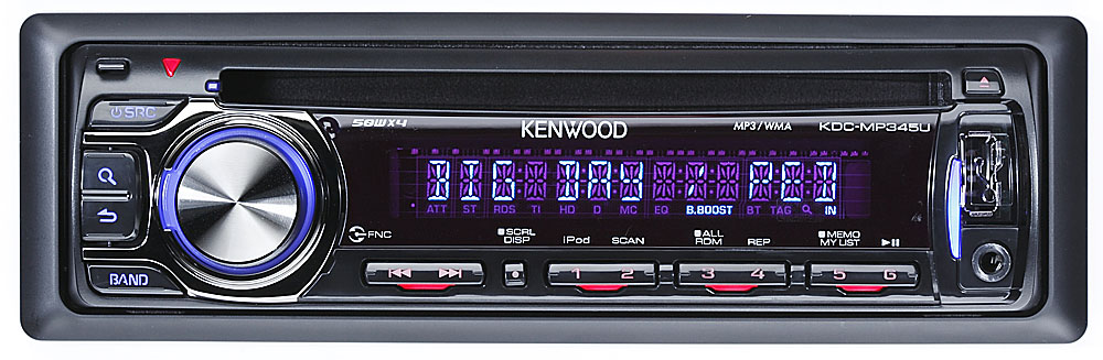 Kenwood KDC-MP345U CD receiver at Crutchfield
