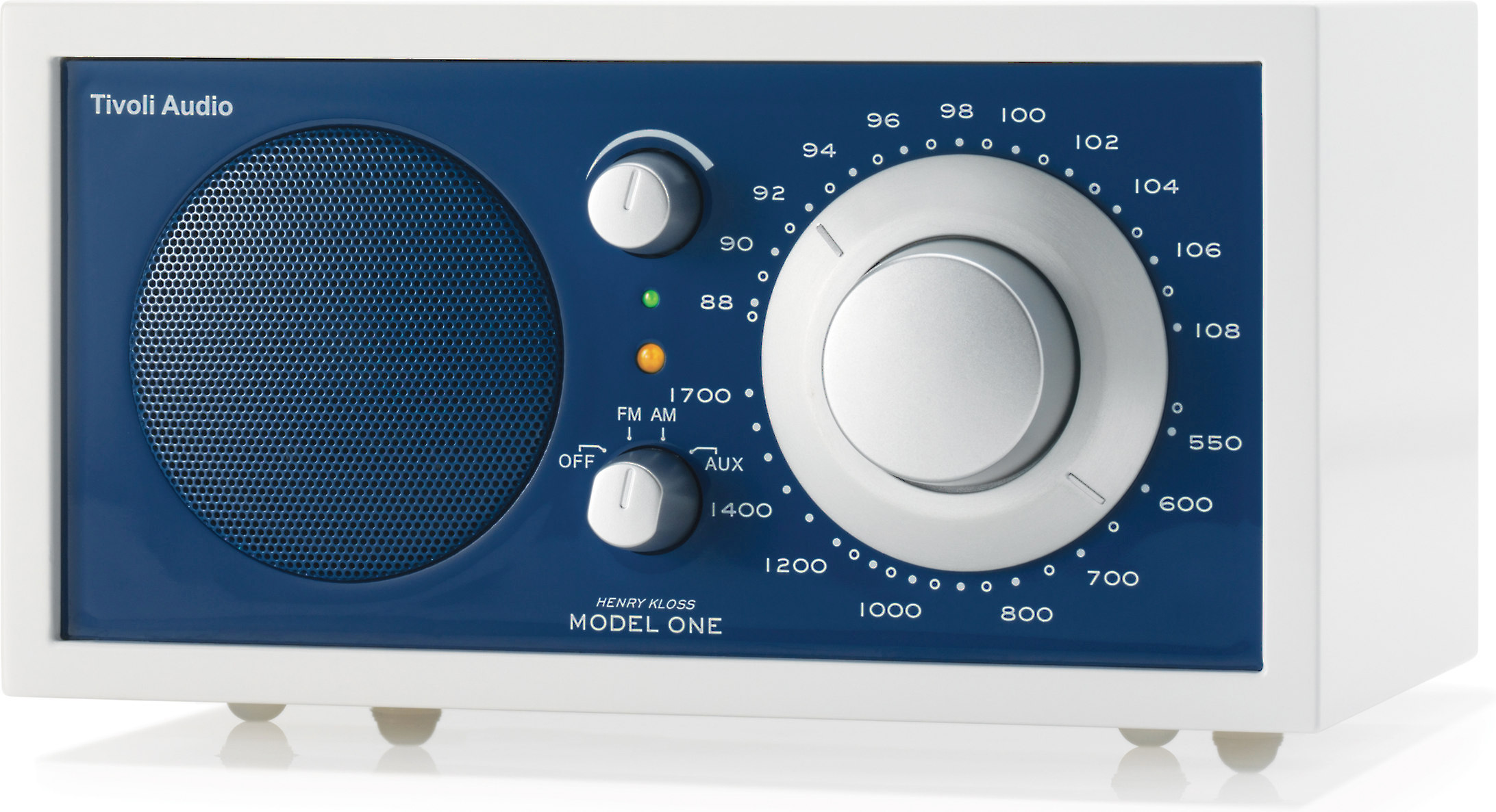 Tivoli Audio Model One Alternative Tivoli Audio Frost White Model One Frost White And Blue