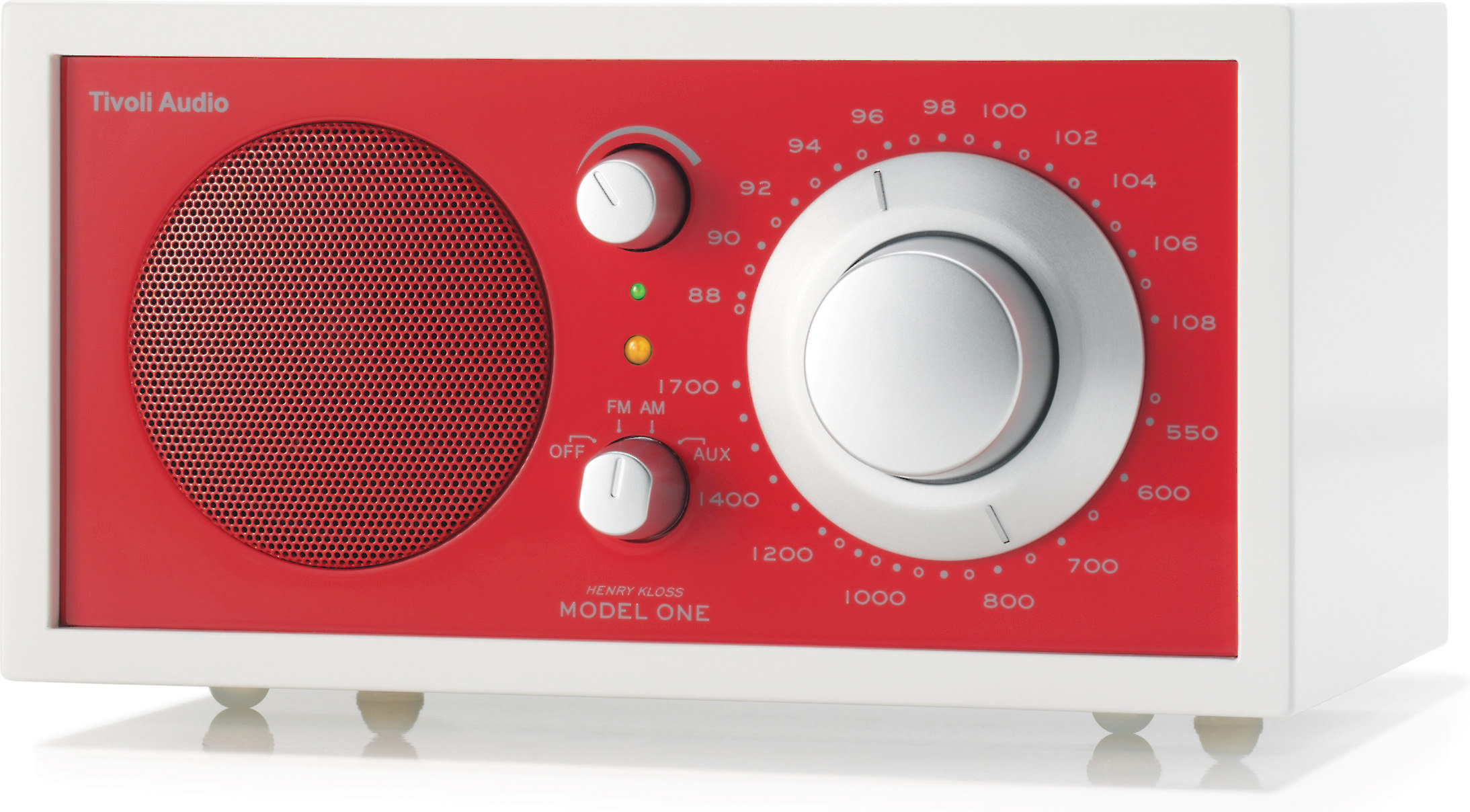 Tivoli Audio Networks Manual Tivoli Audio Frost White Model One Frost White And Red