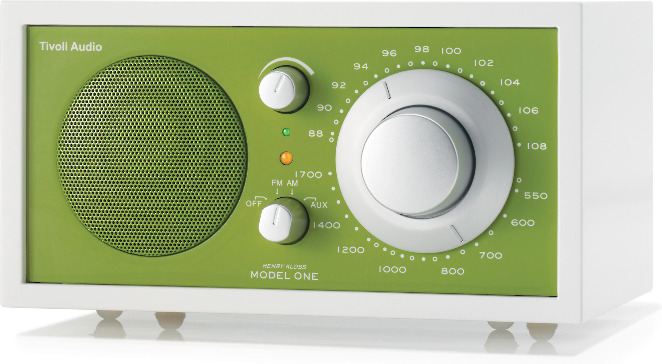 Tivoli Audio Model One Alternative Tivoli Audio Frost White Model One Frost White And Green