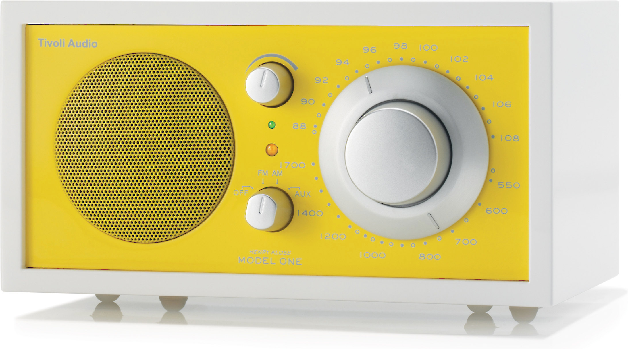 Tivoli Audio Yellow Tivoli Audio Frost White Model One Frost White And Yellow