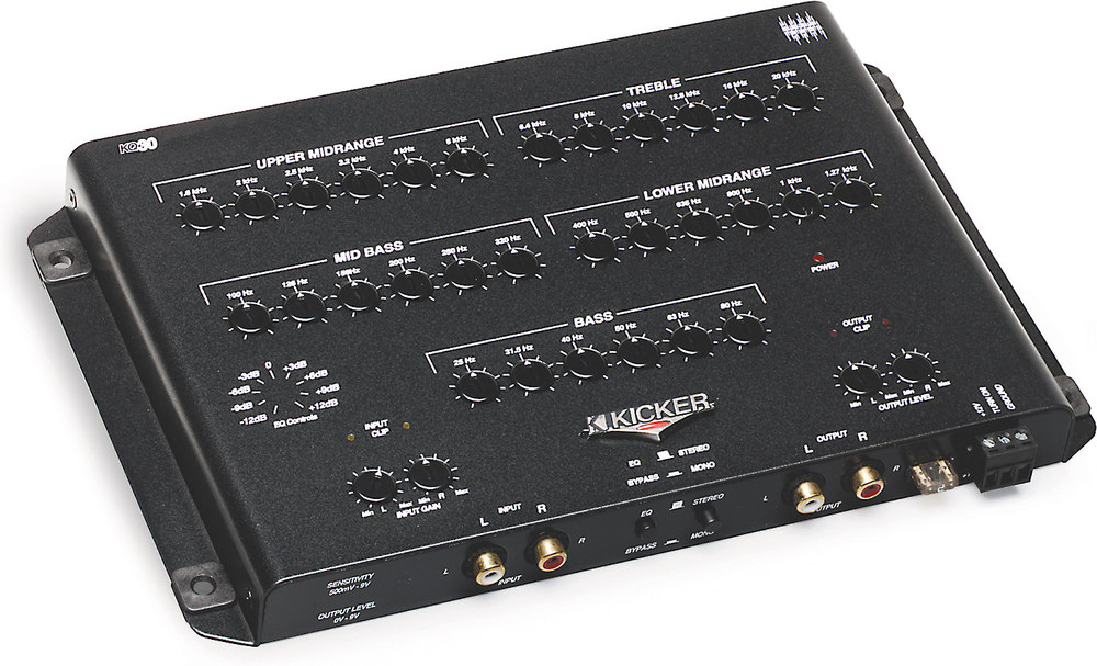 Crossover/Equalizer Installation Guide
