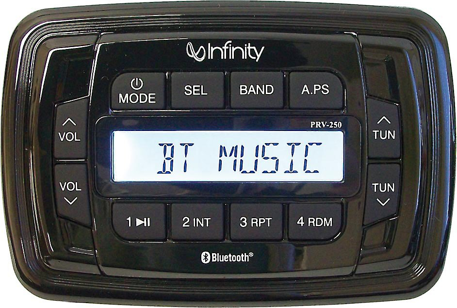 Infinity INF-PRV250 Marine digital media receiver with built-in