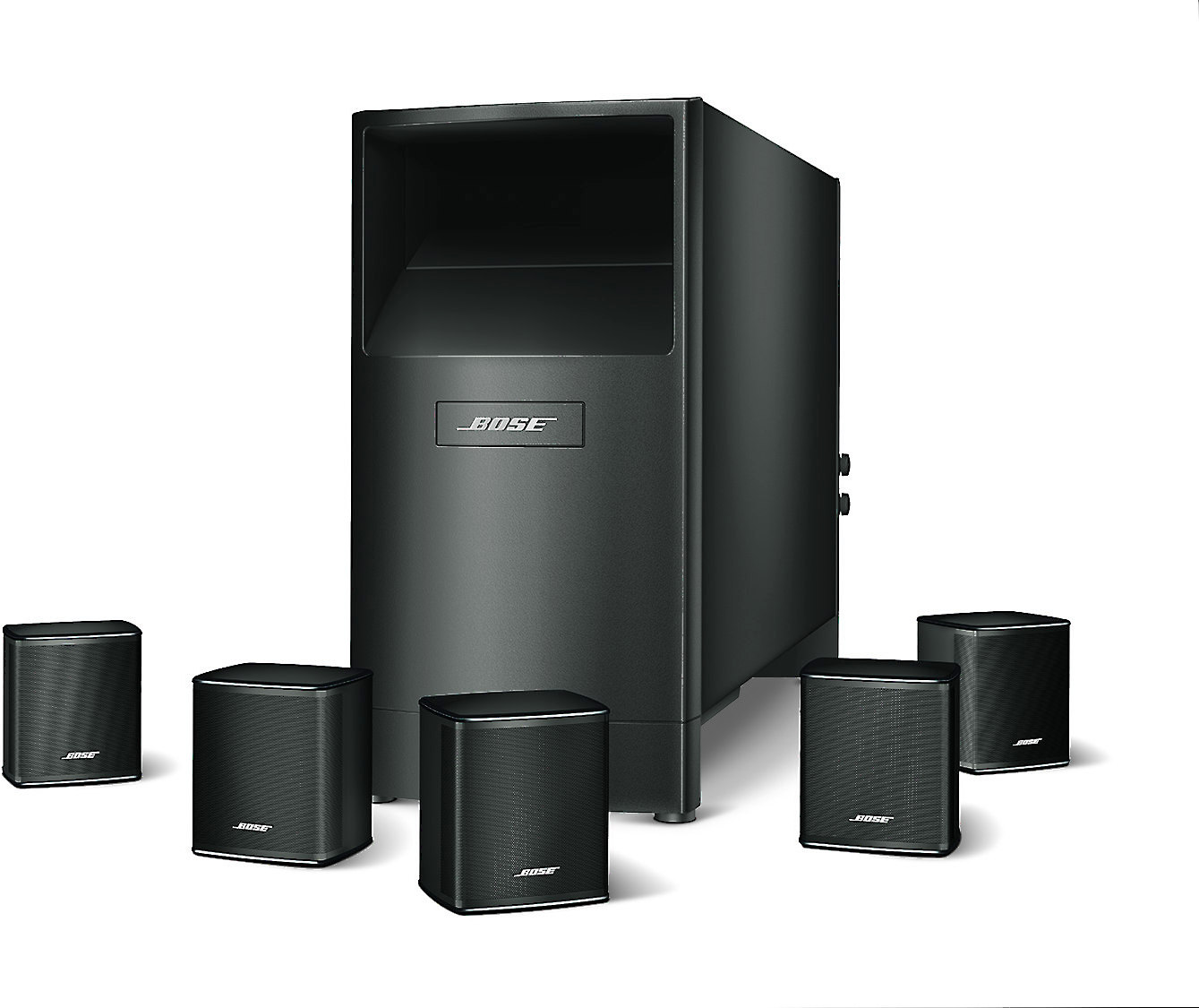 Bose Home Cinema Bose® Acoustimass® 6 Series V Home Theater Speaker System At Crutchfield