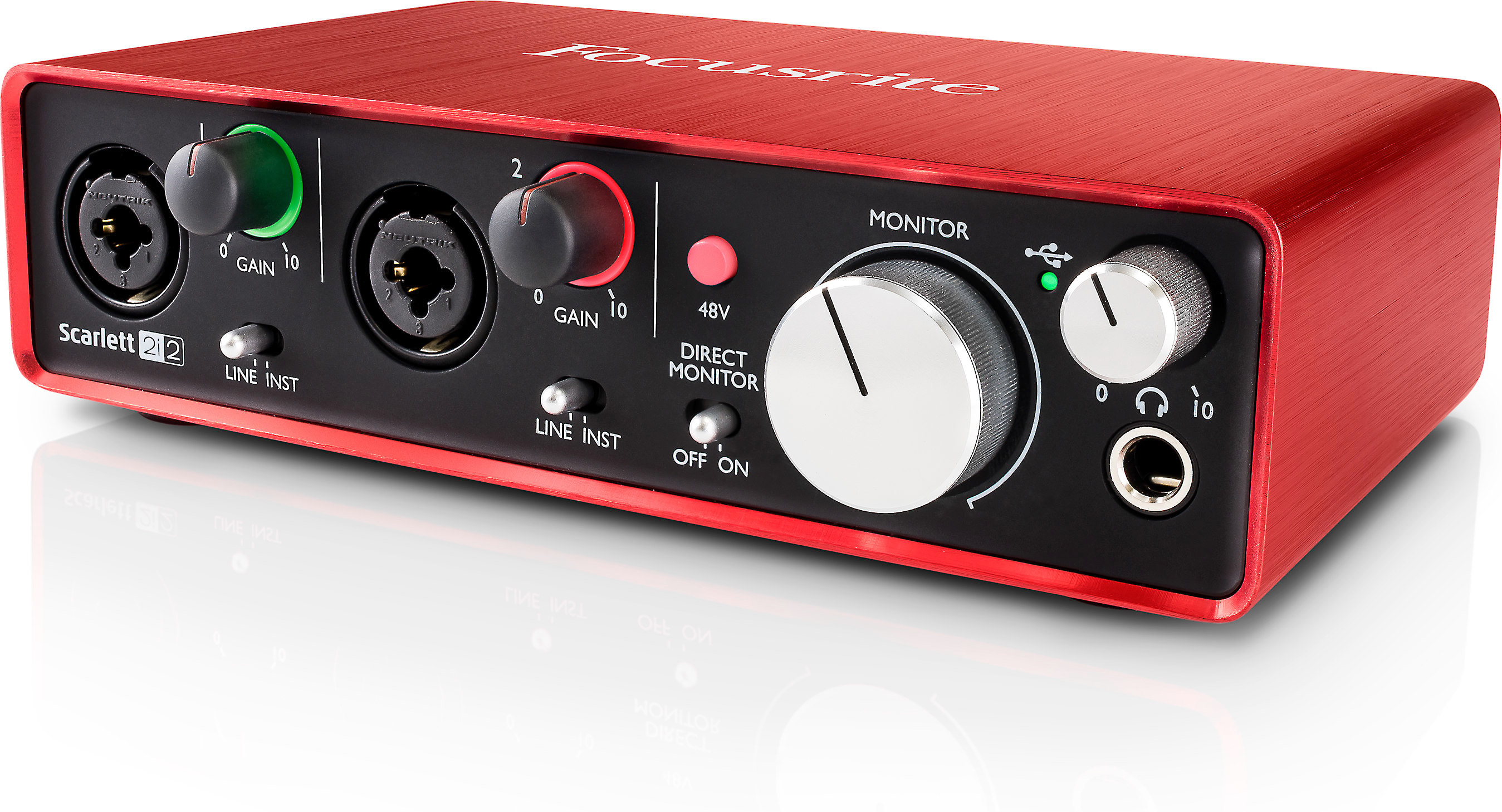 Scarlett 2i2 Focusrite Scarlett 2i2 Second Generation