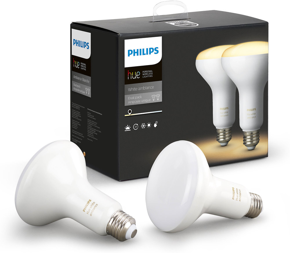 Philips Hue Br30 Philips Hue Br30 White Ambiance Bulbs