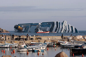 Costa Concordia Captain Symbol Of The Era Csmonitorcom