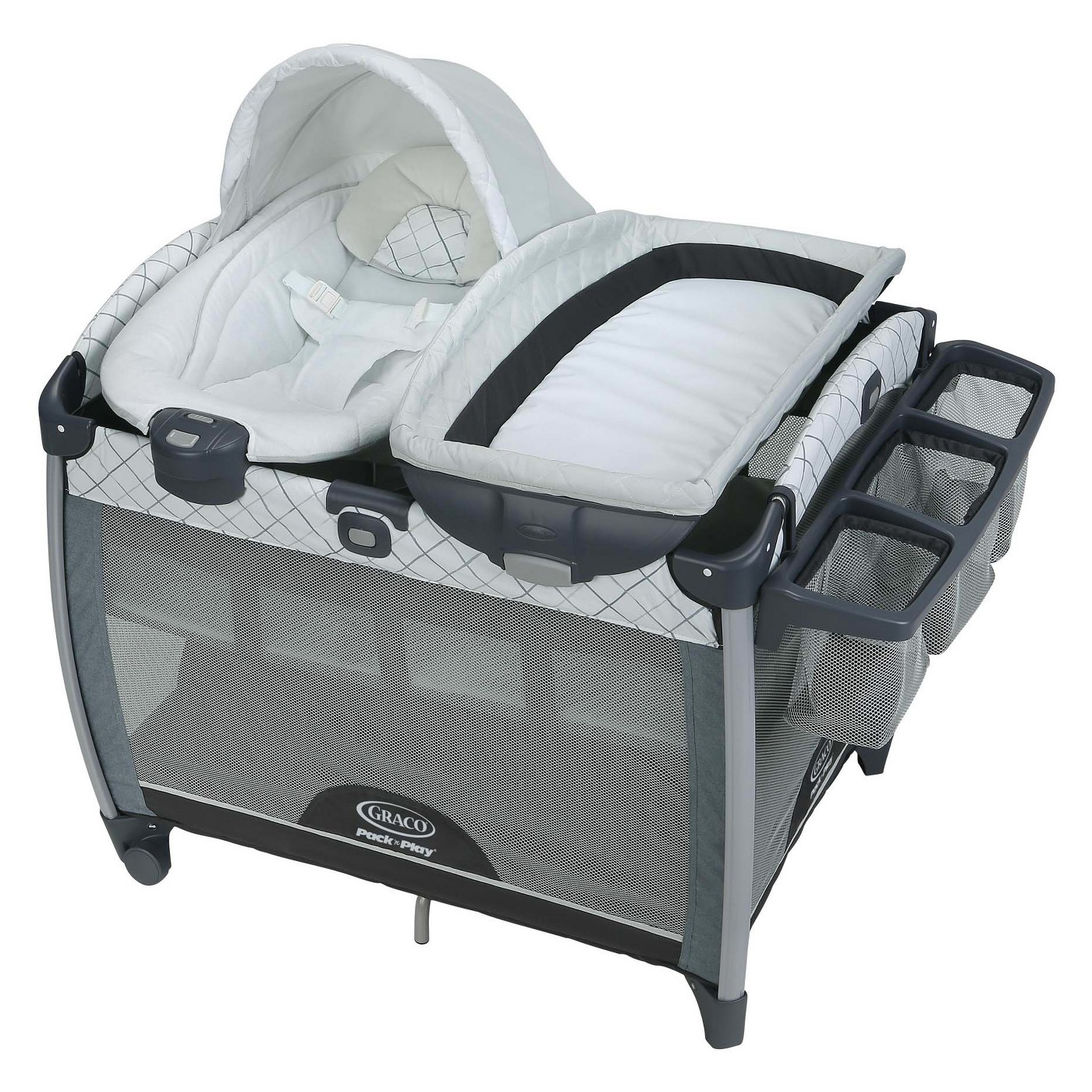 Baby Cradle Graco Graco Quick Connect Portable Bouncer Playard In Whitmore