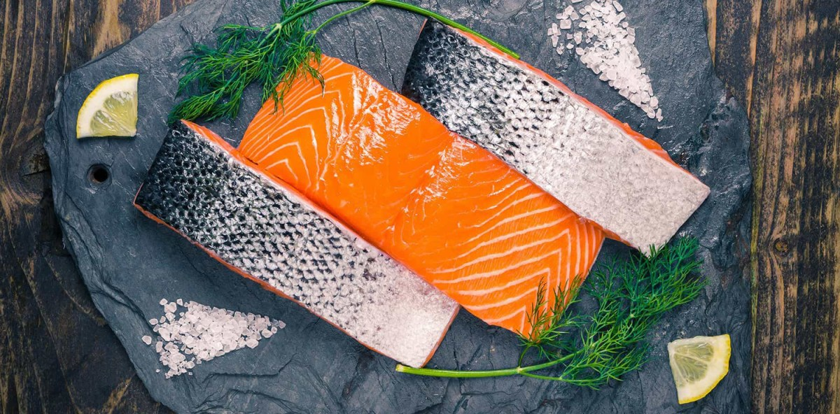 The Recipe For Salmon By Mirko Caldino Chef Of Bagno Alpemare