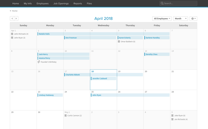 PTO Tracking Software Vacation and Time Off Management