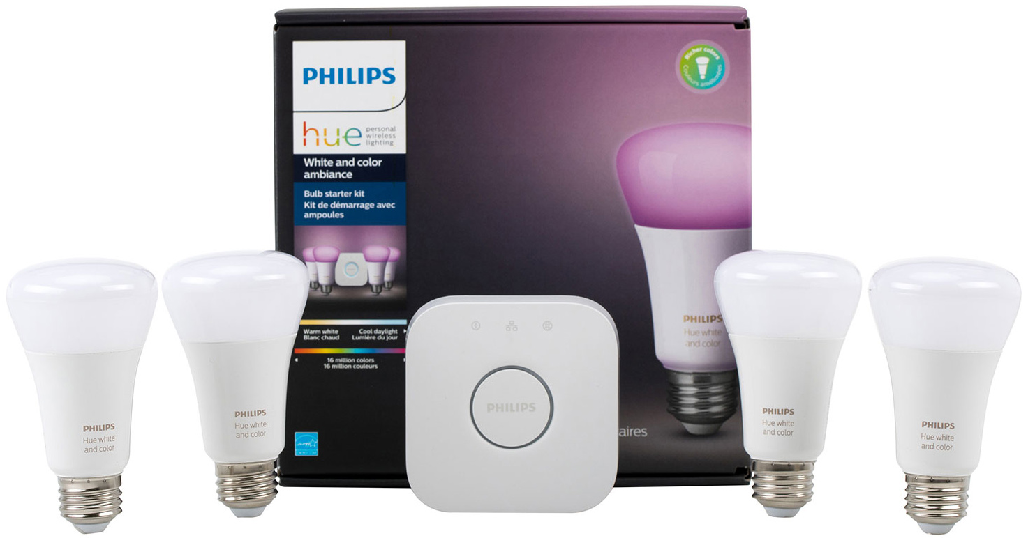 Philips Hue Included Philips Hue A19 Smart Light Bulb Starter Kit Telus