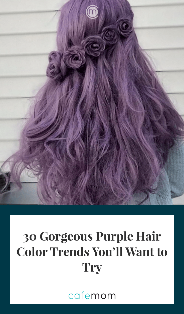 30 Purple Hair Color Trends Everyone Will Want To Copy Cafemom Com
