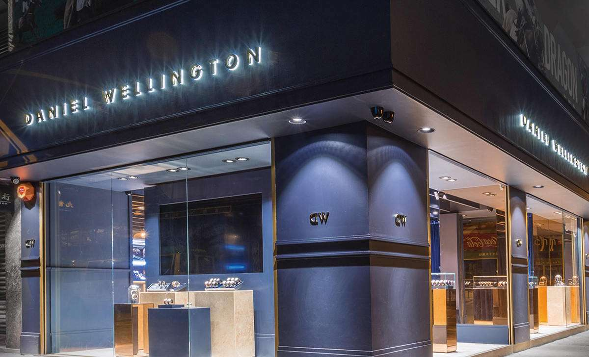 Dw Shop Daniel Wellington Hong Kong Flagship Store Grand Opening With