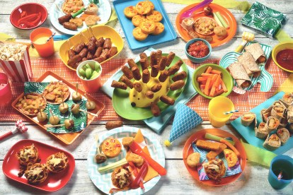 Vegetarian Kids Party Food Ideas Party Finger Food Quorn