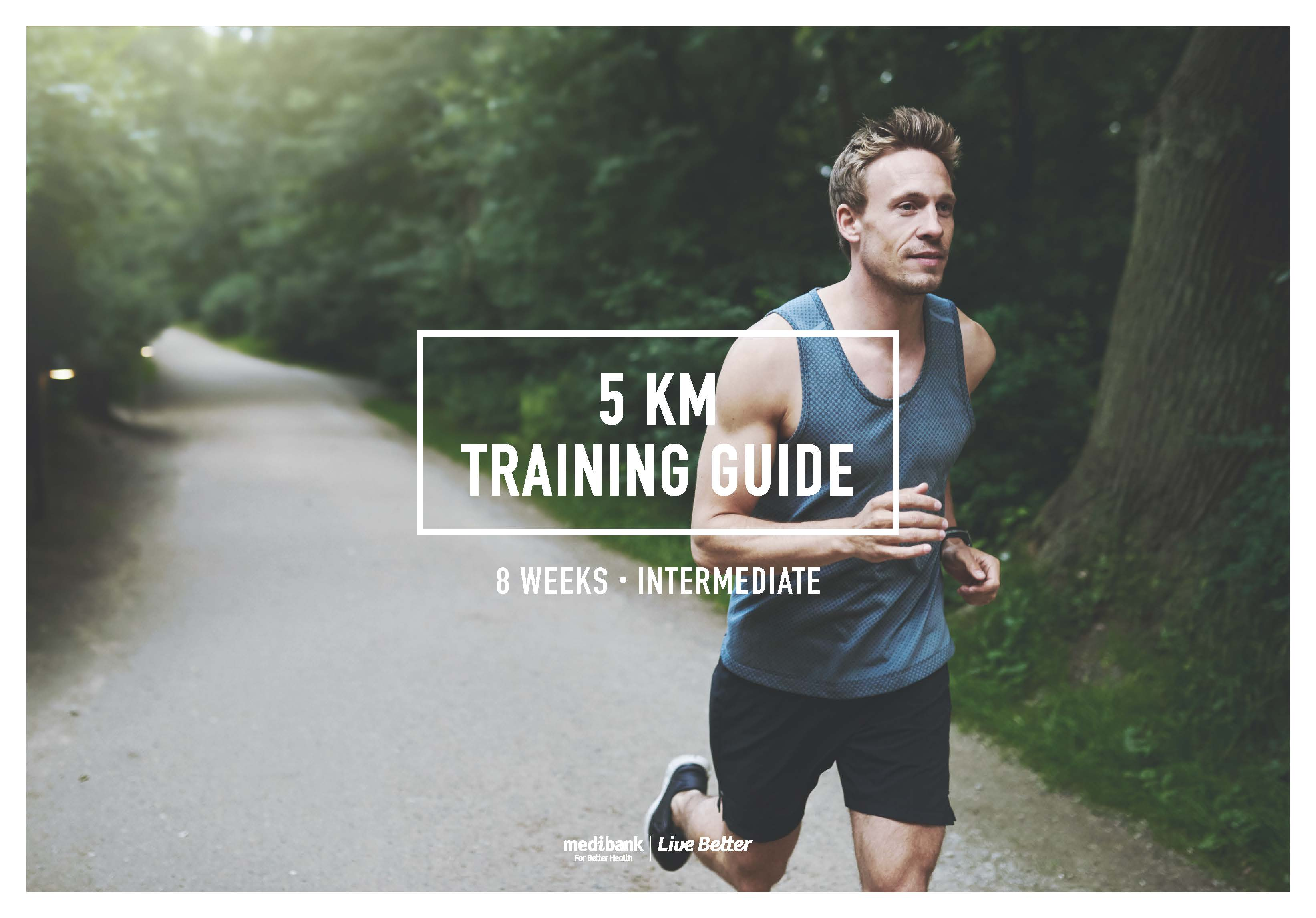 Jogging Run Time 5 Km Training Guide Intermediate 8 Weeks Live Better