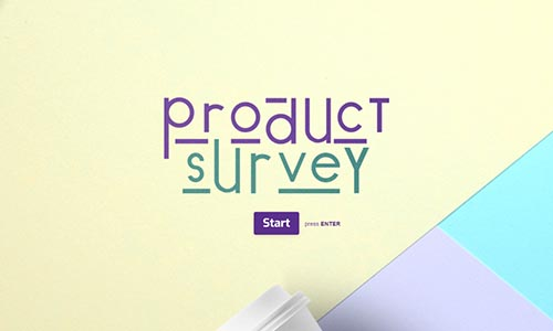 Interactive Product Survey Template Typeform Templates