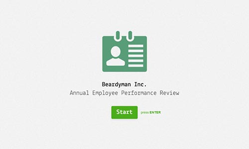 Employee Evaluation Form Template Typeform Templates