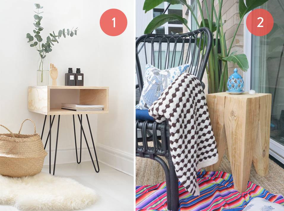 Roundup 10 Gorgeous Diy Wooden Accent Tables Curbly