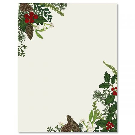 Abundant Holiday Christmas Letter Papers Current Catalog