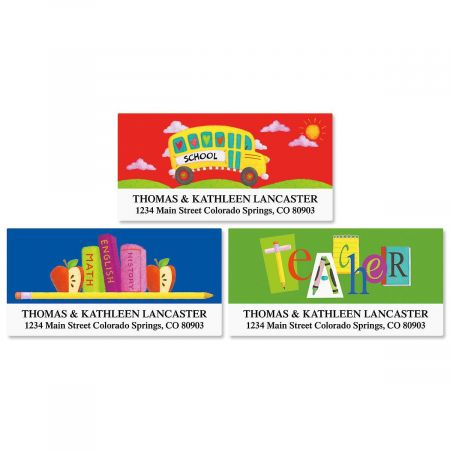 Teacher Address Labels Current Catalog