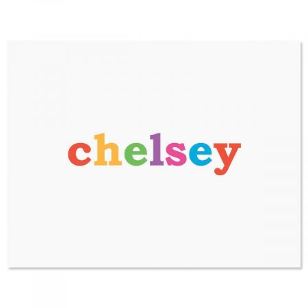 Paintbox Personalized Note Cards Current Catalog - purple note cards