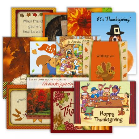 12 Thanksgiving Cards Value Pack Current Catalog