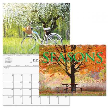 2019 Seasons Wall Calendar Current Catalog