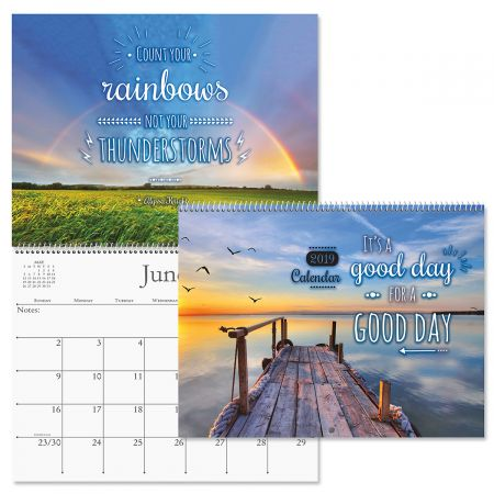 2019 Good Day Quotes Wall Calendar Current Catalog