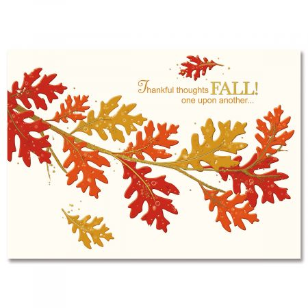 To My Family Deluxe Thanksgiving Cards Current Catalog