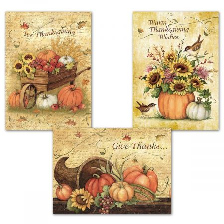 Harvest Thanks Cards Current Catalog