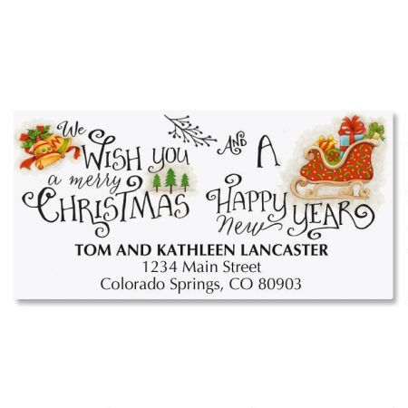 Christmas Cheer Address Labels Current Catalog - Address Label