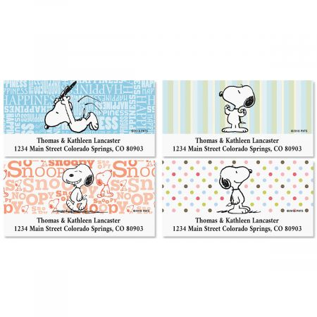 Snoopy Fun™ Deluxe Address Labels (4 Designs) Current Catalog
