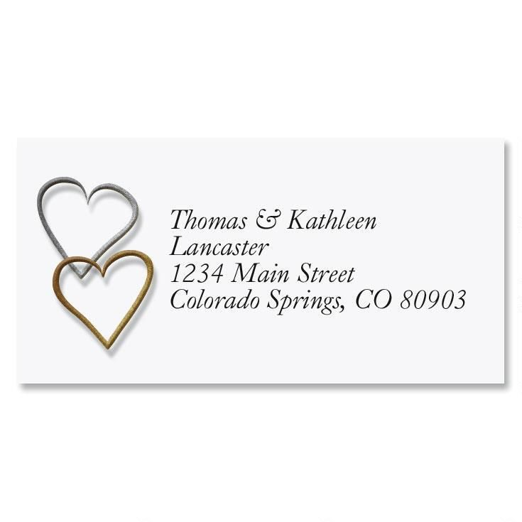 Wedding Address Labels Current Catalog - Address Label