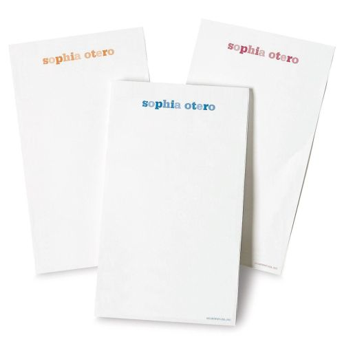 Medium Crop Of Personalized Note Pads