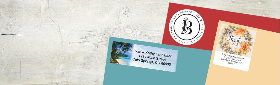 Address Label Designs, Plain to Pretty Current Catalog