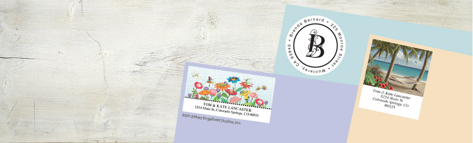 Address Label Designs, Plain to Pretty Current Catalog