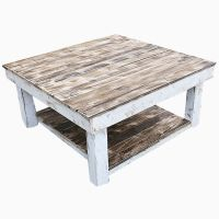 Buy a Hand Made Shabby Farmhouse Reclaimed Wood Coffee ...