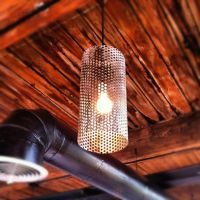 Hand Crafted Custom Perforated Metal Pendant Lights by ...