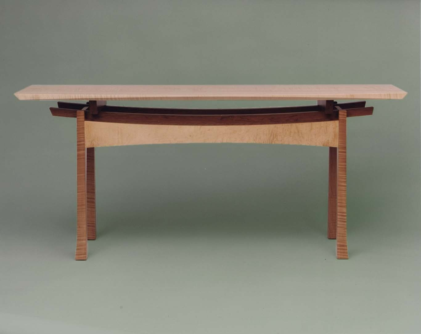 """Handmade """"The Japanese Consul"""" Console Table by Hartcorn"""