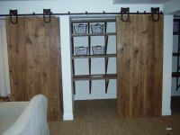 Custom Barn Door Closet by Reclaimed Wood Furnishings ...