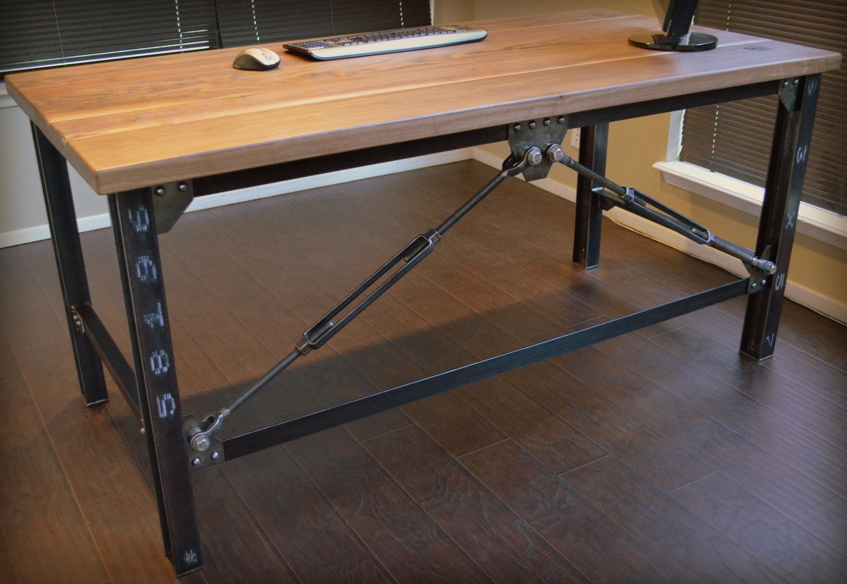 Customs Desk Custom Made Industrial Executive Desk By Urban Industrial