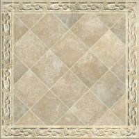 Hand Crafted Carved Travertine Tile Border by Artisan ...