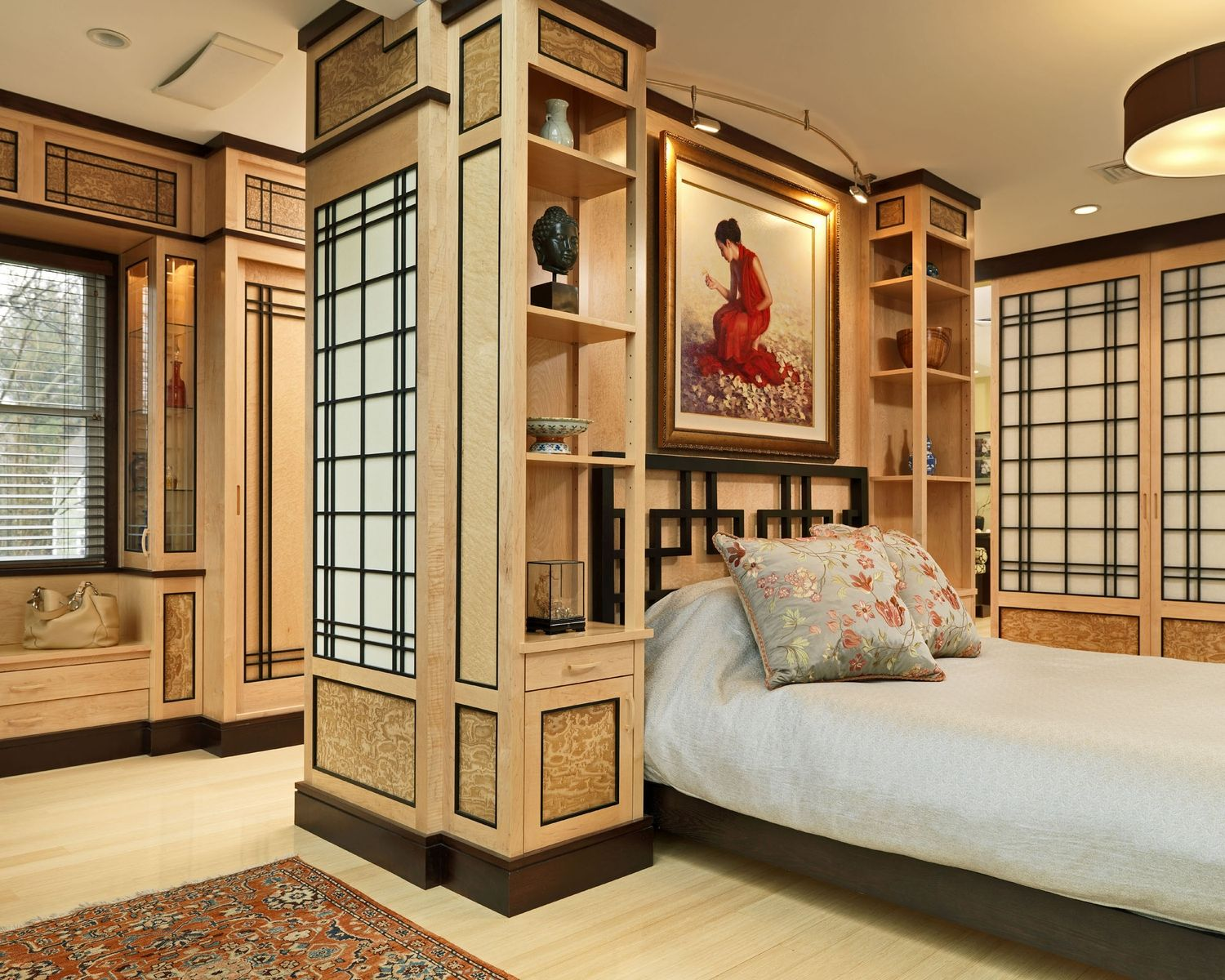 Asian Themed Bedrooms Handmade Custom Asian Bedroom By Michael Humphries