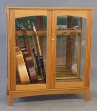 Hand Made Asian Modern Guitar Cabinet by Katahdin Studio ...