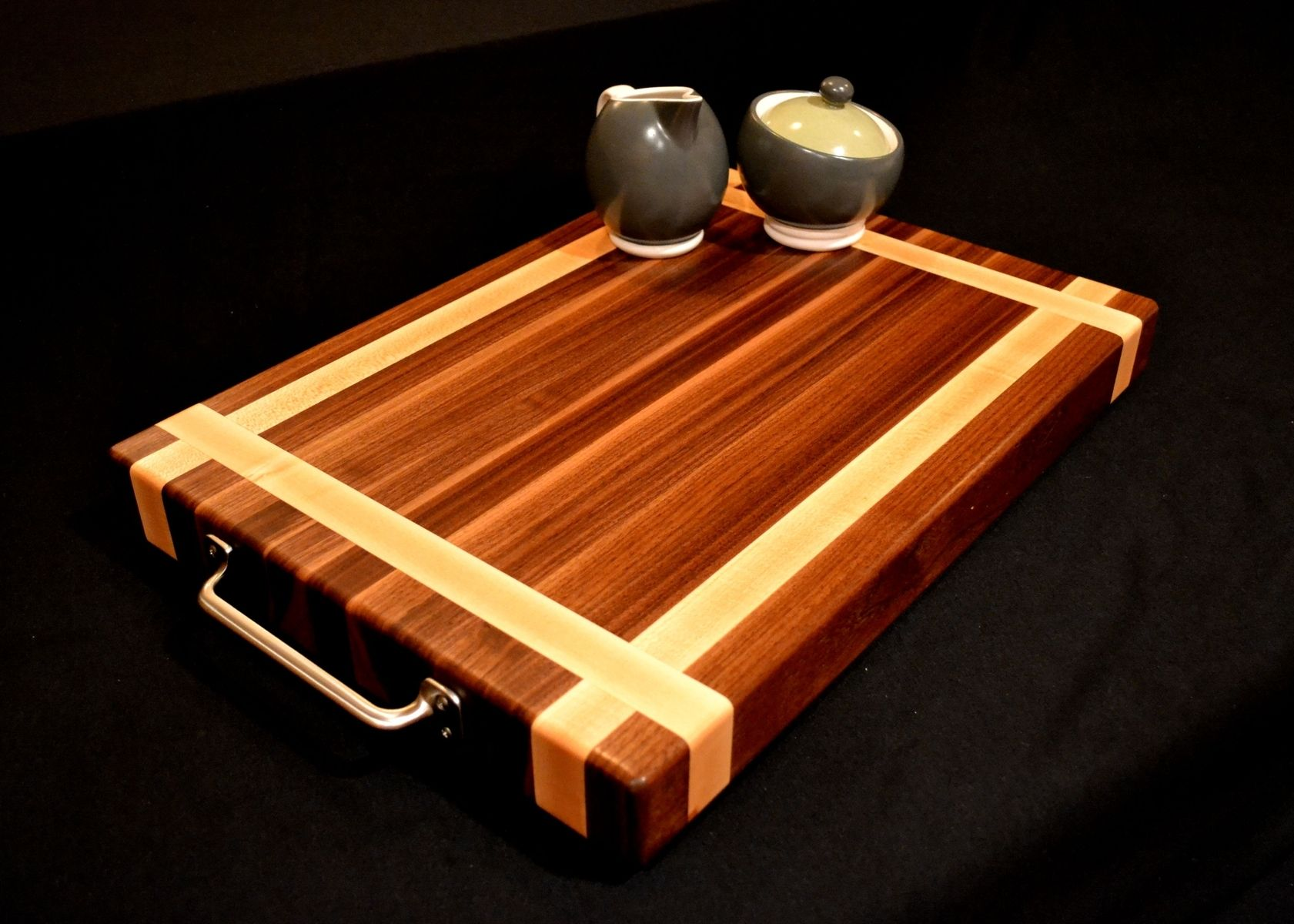 Extra Large Wooden Chopping Board Custom Black Walnut Cutting Board By Magnolia Place