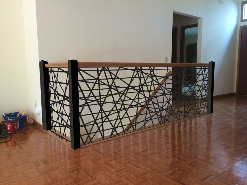 Large Of Metal Stair Railing