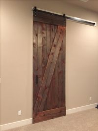 Hand Made Reclaimed Sliding Barn Door - 10+ Feet Tall by ...